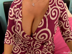 Slutty blonde mom with huge melons getting pounded - XXXonXXX - Pic 4