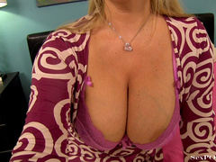 Slutty blonde mom with huge melons getting pounded - XXXonXXX - Pic 8