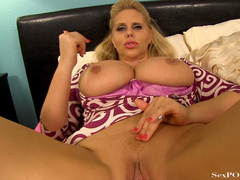 Slutty blonde mom with huge melons getting pounded - XXXonXXX - Pic 13