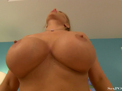 Slutty blonde mom with huge melons getting pounded - XXXonXXX - Pic 21