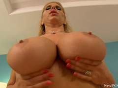 Slutty blonde mom with huge melons getting pounded - XXXonXXX - Pic 22
