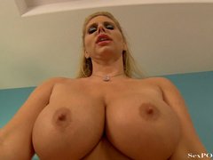 Slutty blonde mom with huge melons getting pounded - XXXonXXX - Pic 23