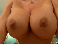 Slutty blonde mom with huge melons getting pounded - XXXonXXX - Pic 25