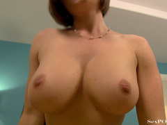 Busty ginger bitch showing off her stretched pussy - XXXonXXX - Pic 20