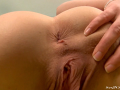 Busty ginger bitch showing off her stretched pussy - XXXonXXX - Pic 22