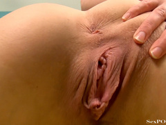 Busty ginger bitch showing off her stretched pussy - XXXonXXX - Pic 23