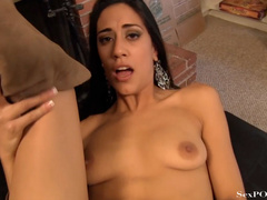 Pretty latina babe showing off her stretched pussy - XXXonXXX - Pic 15