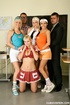 Fione,Katie B,Lyla B and Vanessa H schoolgirls