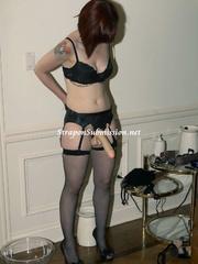 Brunette Mistress and her ponytailed assistant - XXXonXXX - Pic 1