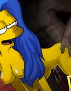Simpson chicks get their tight pussy fucked hard…