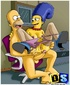 Marge gets her butt licked by Homer and fucks different horny dudes