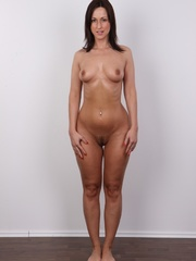 Hot brunette with sexy full hips, soft - XXX Dessert - Picture 14