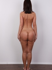 Hot brunette with sexy full hips, soft - XXX Dessert - Picture 16