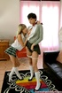 Two nasty school girls get naughty and lick each other carefully