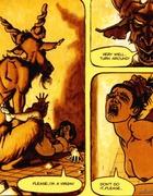 Devil fucks badly brunette carton slut in Convent of hell comics by Noe