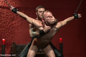 Slave man gets tied and dominated plus w - XXX Dessert - Picture 5