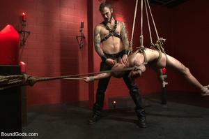 Slave man gets tied and dominated plus w - XXX Dessert - Picture 11