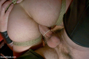 Slave man gets tied and dominated plus w - XXX Dessert - Picture 13