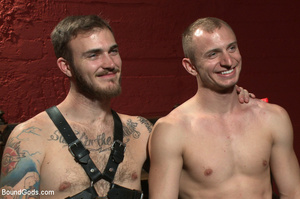 Slave man gets tied and dominated plus w - XXX Dessert - Picture 15