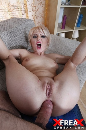 Sexy blonde has her butt hole widened by hard riding hard cock after blowjob - XXXonXXX - Pic 15