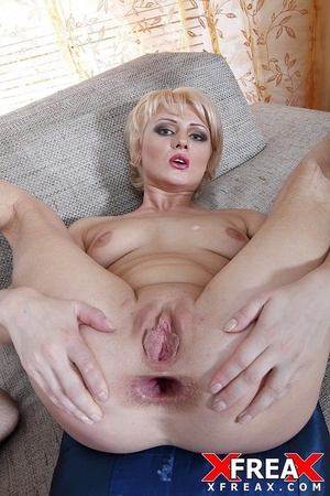 Sexy blonde has her butt hole widened by hard riding hard cock after blowjob - XXXonXXX - Pic 16