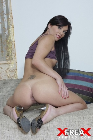 Sexy curvy tall babe gets her butthole widened open after big hot cock fucks butt - XXXonXXX - Pic 12