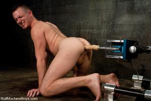 Hot butt machine pounding as dude gets s - XXX Dessert - Picture 9