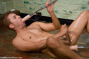 Young guy gets his butt auto fucked hard - XXX Dessert - Picture 15