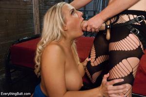 Hot blonde babe with friend licking butt - XXX Dessert - Picture 10