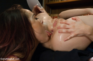 Two young sluts using strap-on cock, dil - XXX Dessert - Picture 10