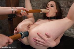 Slut gets her butthole expanded after ho - XXX Dessert - Picture 3