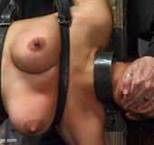 Brutal guy bounds and chains chick in cruel…