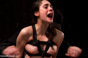 Chick in sweet pain as she is pegged, bo - XXX Dessert - Picture 15