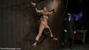 Cute big tits chick is chained and suspe - XXX Dessert - Picture 11