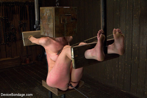 Hot bondage with tied tits and wrapped u - XXX Dessert - Picture 1