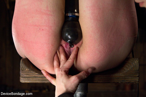 Hot bondage with tied tits and wrapped u - XXX Dessert - Picture 2