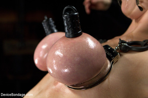 Hot bondage with tied tits and wrapped u - XXX Dessert - Picture 4