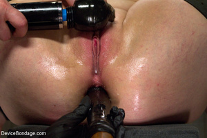 Hot bondage with tied tits and wrapped u - XXX Dessert - Picture 11