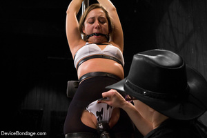 Painful strapping and suspension as hot  - XXX Dessert - Picture 5