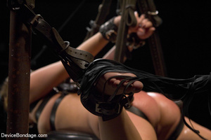 Painful strapping and suspension as hot  - XXX Dessert - Picture 15