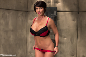Sweet tits chick chained, spanked and se - XXX Dessert - Picture 10