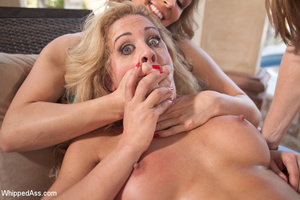 Sexy cute lesbians punish girl with drow - XXX Dessert - Picture 4