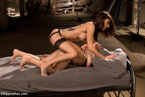 Steamy caging, binding and spanking acti - XXX Dessert - Picture 13