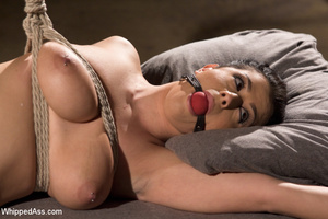 Steamy caging, binding and spanking acti - XXX Dessert - Picture 15