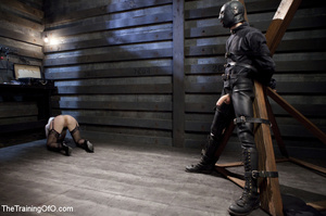 Sexy blonde slave made to suck and ride  - XXX Dessert - Picture 3