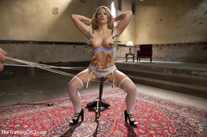 Cute young girls stripped nude, bound, c - XXX Dessert - Picture 5
