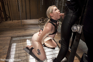 Slave tied and fucked