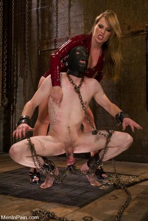 Blonde bdsm fan drilling hard her lover' - XXX Dessert - Picture 4