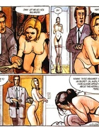 Dude in a suit founds his brunette wife naked and…