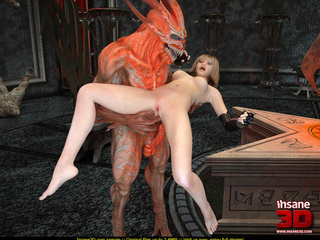 Horny demon is released from the cage and - Cartoon Sex - Picture 4